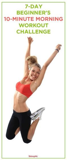 7-Day Beginners 10-Minute Morning Workout Challenge