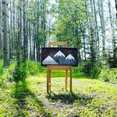 Three Sisters Peaks in Canmore, Alberta Mountain Art, Three Sisters, Outdoor Furniture, Outdoor Decor, Mountains, Design, Home Decor, Decoration Home, Room Decor