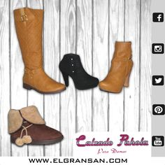 La mayoría de mujeres consideran que sus zapatos son el objeto más importante en su guarda ropa y, por supuesto, esto es por una buena razón para seguir nuestra #MarcaDelDía: Calzado Pahola. Local: 1067. Tel: 341 9795. #ColombianoCompraColombiano
