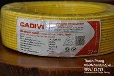 Dây điện Cadivi 4.0 - giá từ nhà cung cấp dây Cadivi Event Ticket, Website