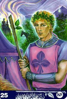 Albumarchiv - New Aura Soma Tarot Page Of Wands, Knight Of Wands, Archangel Michael, Tarot Decks, Tarot Cards, Spirituality, Princess Zelda, Fantasy, Album