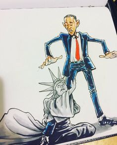 Still The Greatest Political Cartoon Of Barack Obama. Barack Obama, African American Art, American History, Durham, Black Presidents, Barack And Michelle, And So It Begins, Raining Men, Our President