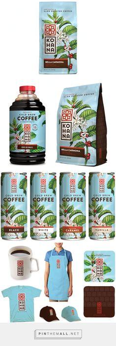 Kohana #Coffee #packaging by Helms Workshop - http://www.packagingoftheworld.com/2015/01/kohana-coffee.html