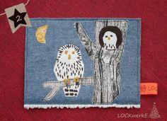 LOCKwerkE: STOFFKARTE Nachteulen Kids Rugs, Decor, Night Owl, Card Crafts, Decoration, Kid Friendly Rugs, Decorating, Nursery Rugs, Deco