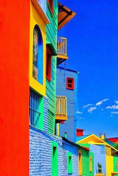 "A Jurubeba Cultural:   ● A Arte...  e a rua.    (""Caminito in La Boca"", Buenos Aires. Argentina)."