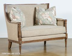 Fine Furniture Protege Upholstered Settee
