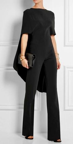 916b779650c This jumpsuit is errthang! Cred  Cape-back