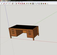 Check out this SketchUp for Woodworkers Guide full of information for those who want to give it a try. Paul Mayer walks you through his SketchUp journey.