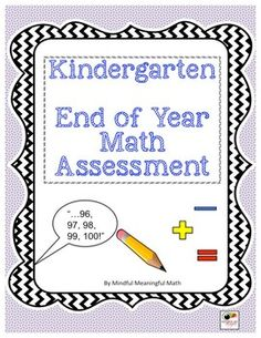 Based on the end of year Kindergarten standards, this assessment captures most of the major standards through both an interview and student written work that can be done individually, in a small group or as a whole class.  It includes a teacher master page, the materials you would need to assess, as well as a student record page. *This is a version of the 1st grade Beginning of the Year assessment so if you own that, you do not need to purchase.