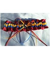 Check out this AFL Brisbane Lions Garter on the Easy Weddings Shop