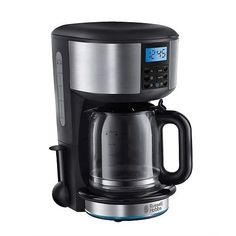 Russell Hobbs Buckingham Drip Filter Coffee, Filter Coffee Machine, Drip Coffee Maker, Electric Coffee Maker, Russell Hobbs, Light Ring, Digital Timer, Car Cleaning, Small Appliances