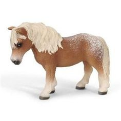 Schleich Falabella Mare Horse Toy Model - Hailing from South America, the Falabella stands proudly as one of the smallest miniature horses. A mix of bloodlines originally descending from Iberian breeds, the Falabella is named after one of its breeders. Shop www.HorseToysSuperstore.com for all your horse toys, tattoos, jewelry, t shirts, back packs, lunch boxes, models, plush stuffed animal horse toys, gifts and birthday party supply!