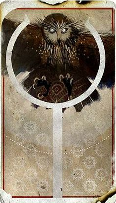 Inquisitor tarot card - Trevelyan Mage - Dragon Age: Inquisition