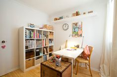 Eclectic Home Office by House Nerd
