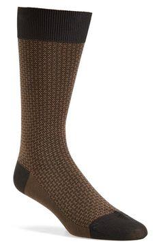 Pantherella 'Jerome' Jacquard Wool Blend Socks