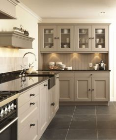 Taupe Kitchen Cabinet and Wall Color. Taupe Kitchen Cabinet and Wall Color. 10 Kitchen Trends Here to Stay Taupe Kitchen, Kitchen Flooring, Dark Kitchen Cabinets, Taupe Kitchen Cabinets, Kitchen Wall Cabinets, Kitchen Remodel, Beige Kitchen, Rustic Kitchen, Kitchen Renovation