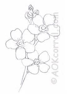 Forget Me Not Flower Pattern | Tattoo??? | Pinterest
