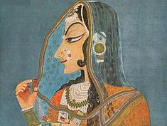 Mughal Paintings, Old Paintings, Miniature Paintings, History Of India, Ancient History, Art History, Art Indien, Mughal Jewelry, Jewellery
