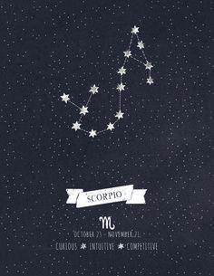 Scorpio Constellation - tattoo idea