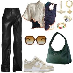 Kpop Outfits, Teen Fashion Outfits, Girl Outfits, Fashion Bella, Nagel Gel, 2000s Fashion, Looks Vintage, Cute Casual Outfits, Polyvore Outfits