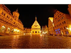 Rothenburg ob der Tauber, Germany  This square is where the band performed their last concert of the trip.  July 2011