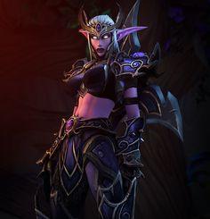 Jesana Moonfall, The Lone Huntress #warlordrexx