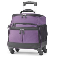 Four-Wheel Getaway Under-Seat Tote - Your Trusted Source for Travel Accessories and Gear