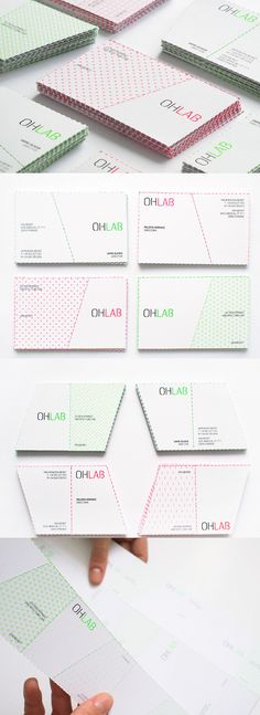Perforated Business Cards | Card Observer