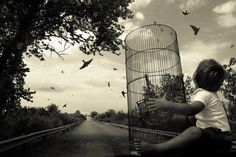 """""""Love Without Hope (from the series Traveling Dream) 2008. Angela Bacon-Kidwell. Archival pigment print  """""""