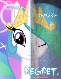 MLP - Two Sides of Celestia by *TehJadeh on deviantART