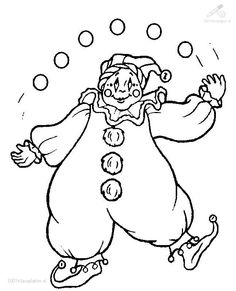 clown coloring pages 1001 coloringpages circus clown clown coloring page