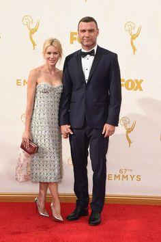 Pin for Later: De Nombreuses Stars se Sont Retrouvé Sur le Tapis Rouge des Emmy Awards Naomi Watts et Liev Schreiber