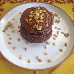 Panqueca de cacau – super saudável, super deliciosa   http://comalaemcasa.com.br/2016/03/panqueca-de-cacau/