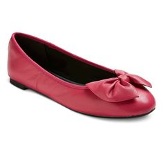 Women's Sam & Libby Chelsea Genuine Leather Bow Flats -
