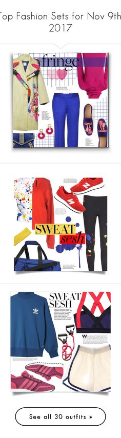 """""""Top Fashion Sets for Nov 9th, 2017"""" by polyvore ❤ liked on Polyvore featuring Sephora Collection, Kenzo, Stella Jean, STELLA McCARTNEY, J.Crew, John & Pearl, Alice + Olivia, Reebok, Just Cavalli and New Balance"""