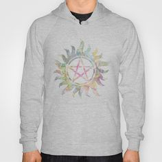 Supernatural watercolours Hoody. Holy mother of chuck I need!!!