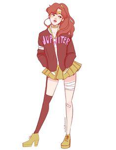Lita, Sailor Jupiter