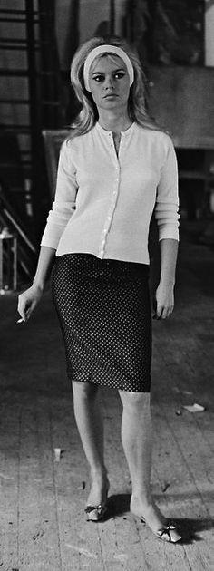 Brigitte Bardot photo Giancarlo Botti 1961