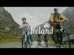 Jump Into Ireland by Tourism Ireland (Bikes) Ireland Travel, Tourism Ireland, Irish Movies, Guinness Storehouse, Irish Eyes, Irish Wedding, Tours, Humor, Youtube