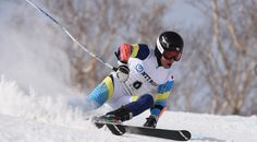 February 23 2017 - 18-year-old Yohei Koyama wins Asian Winter Games gold medal in the giant slalomas Alpine skiing competition