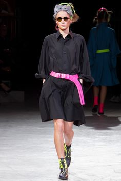 Yohji Yamamoto Spring 2014 Ready-to-Wear Collection Photos - Vogue