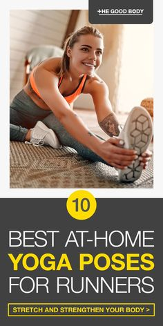 If you're chasing your PB then mastering the perfect yoga routine can really give you the edge. Take a look at the 10 best yoga poses for runners. These easy to do at-home yoga poses help you stretch and strengthen! yoga poses for beginners YOGA POSES FOR BEGINNERS | IN.PINTEREST.COM HEALTH EDUCRATSWEB