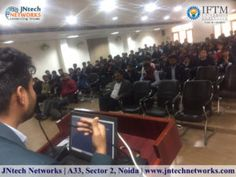 "JNtech Networks organized an Interactive session of ""Python"" one-day Seminar at IFTM Moradabad. The interactive Seminar was conducted by Mr. Moh. Shuaib (Business Development Manager of JNtech Networks) and the Seminar taken by Mr. Rizwan (C, C++, Java, Core Python, Advanced Python, Django, Machine Learning Expert) and Working as the technical Trainer at JNtech Networks.Contact Us: +919354998586, +919354976076  www.jntechnetworks.com  Email: info@jntechnetworks.com  Address: A33, Sector 2…"