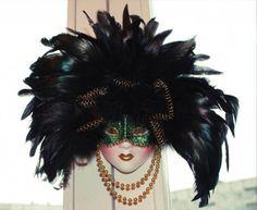 venetiran style masks for a masquerade ball make beautiful wall decoration