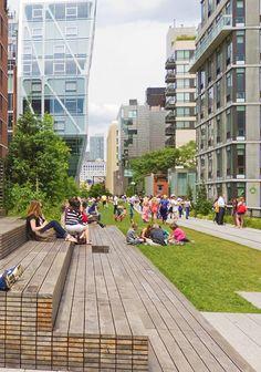 Parque Linear_High Line_Nova York_James Field Operations Canto e Diller Scofidio + Renfro