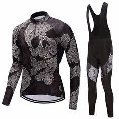 ... almofada de manga Longa roupas de ciclismo 2018 camisa de ciclismo  conjunto esporte roupas de bicicleta bike wear vestido de Roupa mtb  triathlon terno ... 41dff0d94ad1d