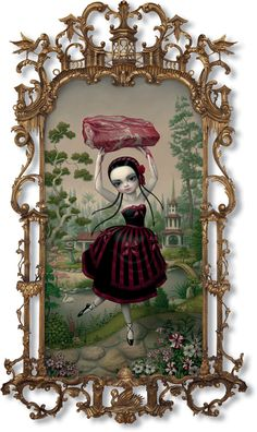 Find the latest shows, biography, and artworks for sale by Mark Ryden. In a meticulous painting style, Los-Angeles artist Mark Ryden creates fantastical imag… Mark Ryden, Art Pop, Jeff Koons, No Ordinary Girl, Arte Lowbrow, Art Et Illustration, Tim Burton, Vincent Van Gogh, Dark Art