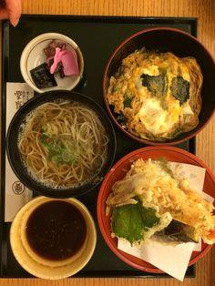 Soul Food... Tempura, soba and tamago donburi at Owariya尾張屋
