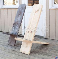 O Lado de Cá: Com uma tábua faço uma cadeira