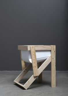Tõnis Kalve and Ahti Grünberg; '50/60' Chair from the Derelict Series, 2014.